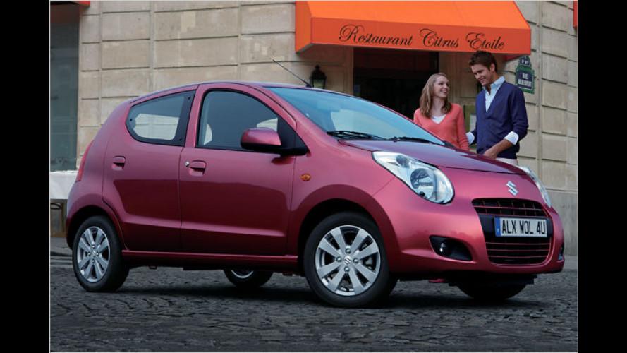 Neuer Suzuki Alto: Der kleine Stadtflitzer erfüllt bereits Euro 5