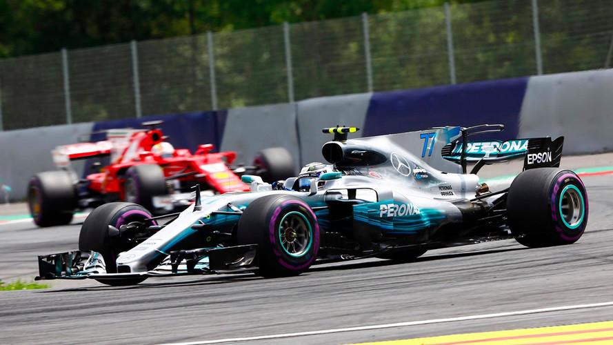 Bottas logra su segunda victoria, ante el acoso final de Vettel en Austria