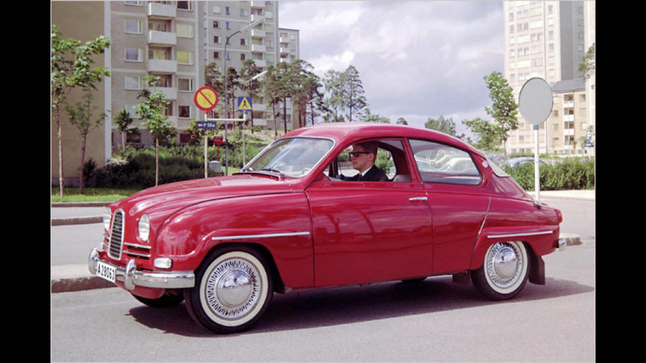50 Jahre Saab 96