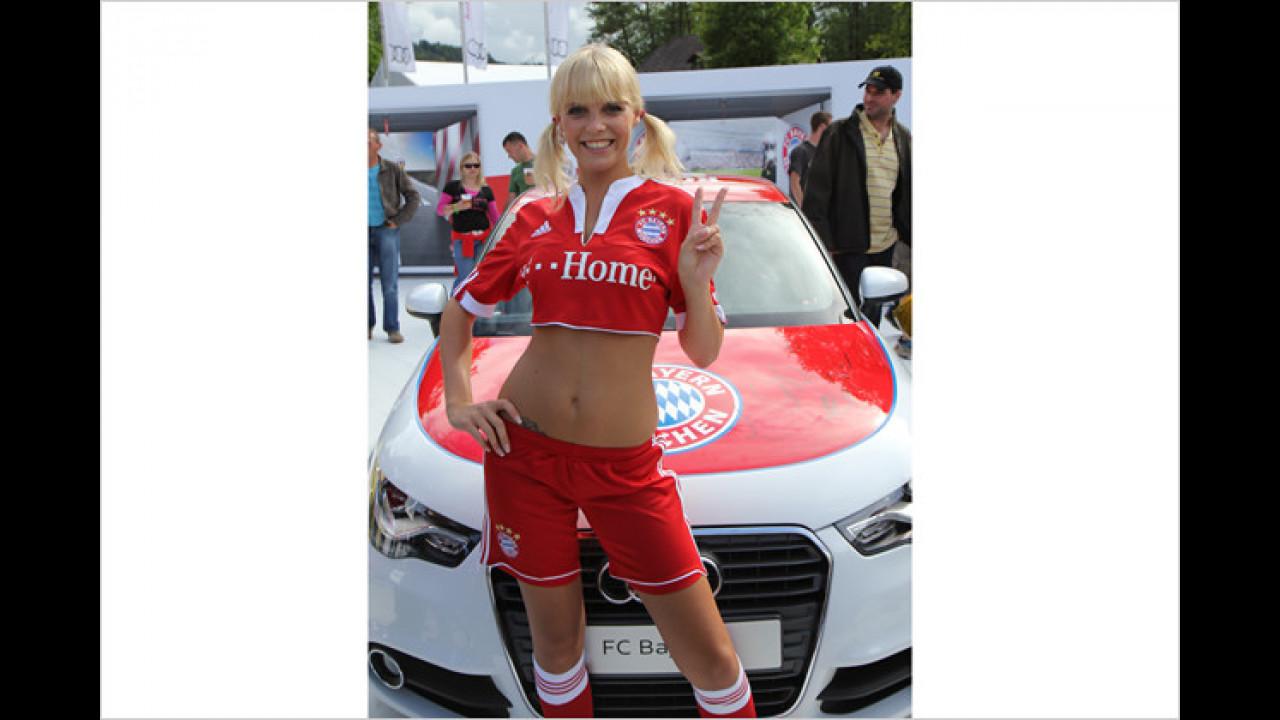 Um schön schlank zu sein, macht Heidi auch anderen Sport als Fussball