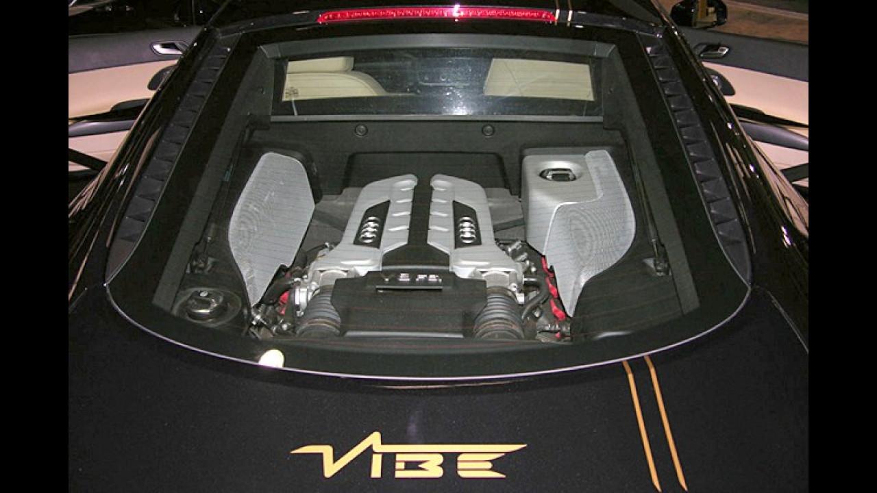 Der R8 wurde von der Firma ,Vibe