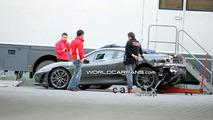 Schumacher''s crashed Ferrari F430 Scuderia Prototype