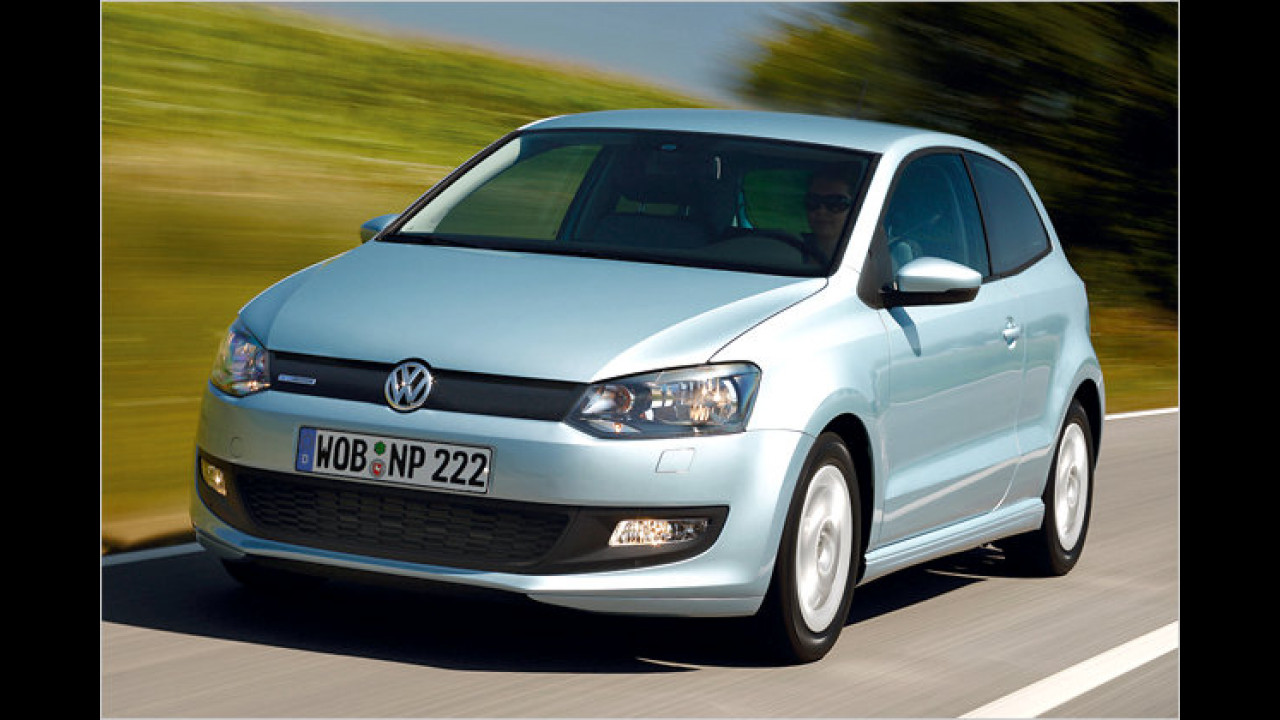 VW Polo 1.2 TDI BlueMotion 87g Trendline 3-türig