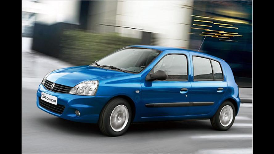 Renault Clio Campus: Auffrischung für den alten Recken