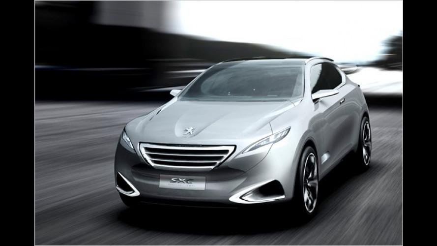 Peugeot SxC: Chinesisches Eigengewächs