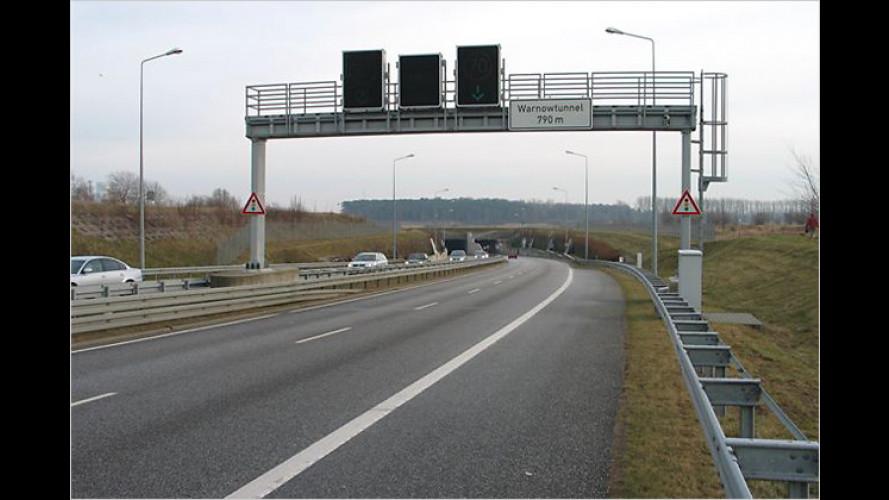 ADAC-Tunneltest 2009: Bestes Ergebnis seit Einführung