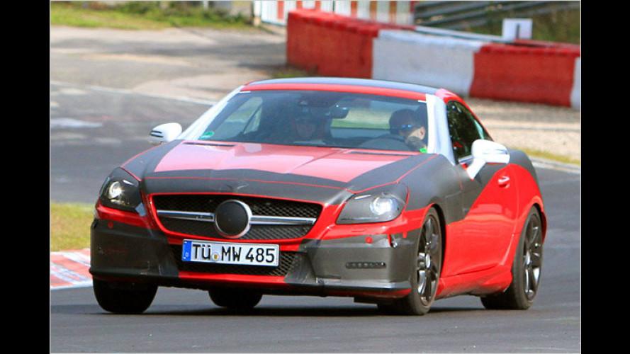 Erlkönig: Der neue Mercedes SLK weiter entblättert