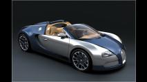 Blauer Bugatti