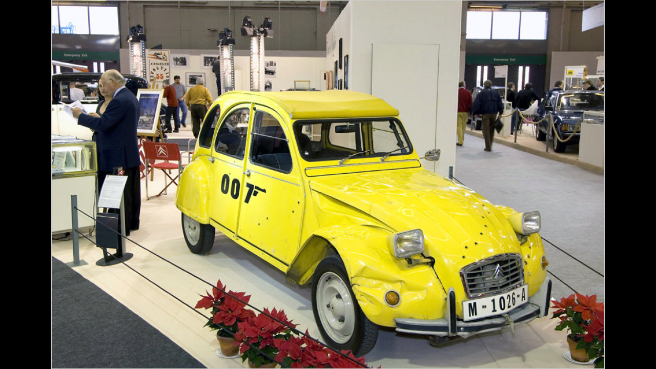 In tödlicher Mission (1981): Citroën 2 CV
