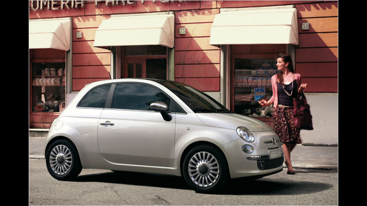 Frauenauto: Fiat 500
