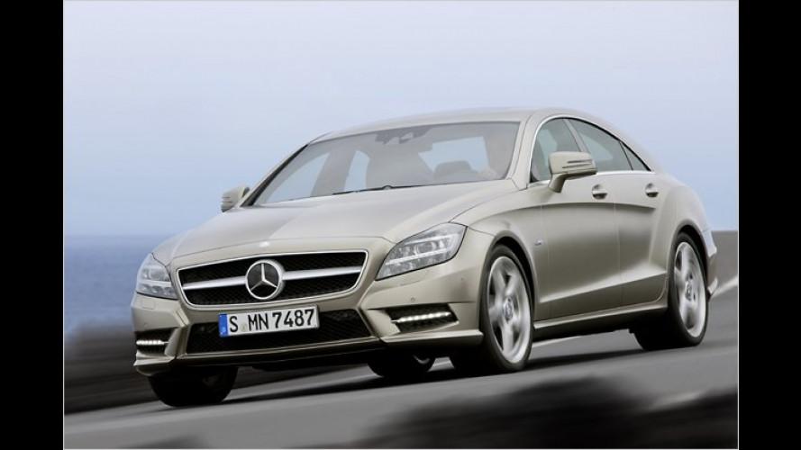 Mercedes CLS: Die Neuauflage ist ab sofort bestellbar