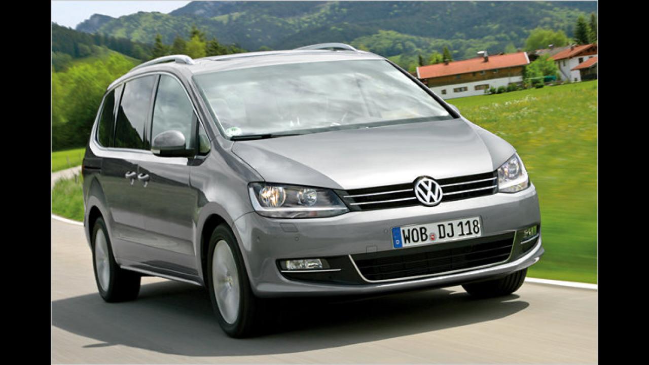 Vans: VW Sharan 2.0 TDI BlueMotion Technology