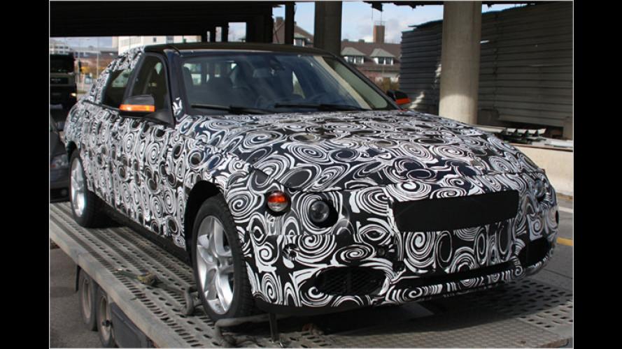Noch schwer getarnt: BMW erprobt den neuen 3er