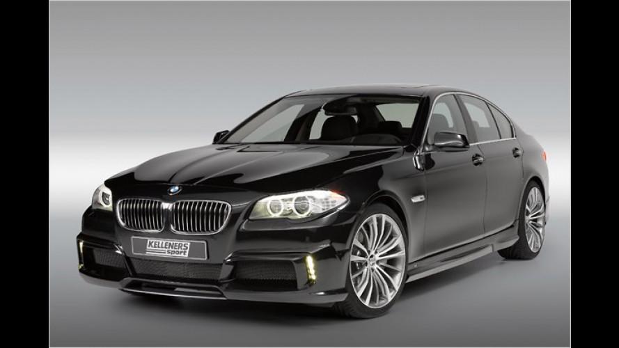 Kelleners-Comeback: BMW Fünfer mit mehr Turbo-Power
