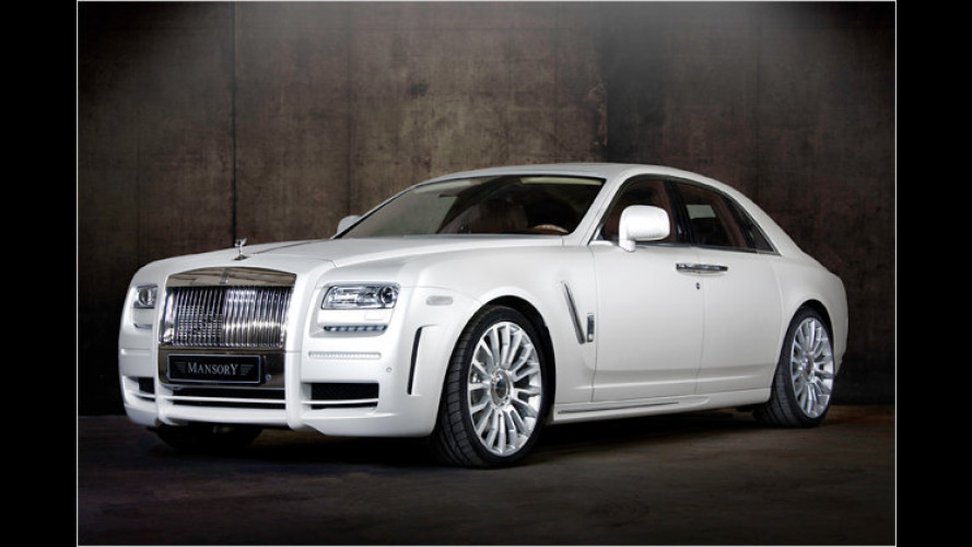 Mansory tunt den Baby-Rolls: White Ghost Limited