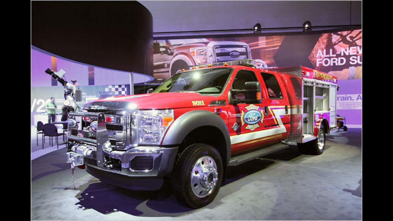 Ford F-550 Super Duty Brush Fire Truck