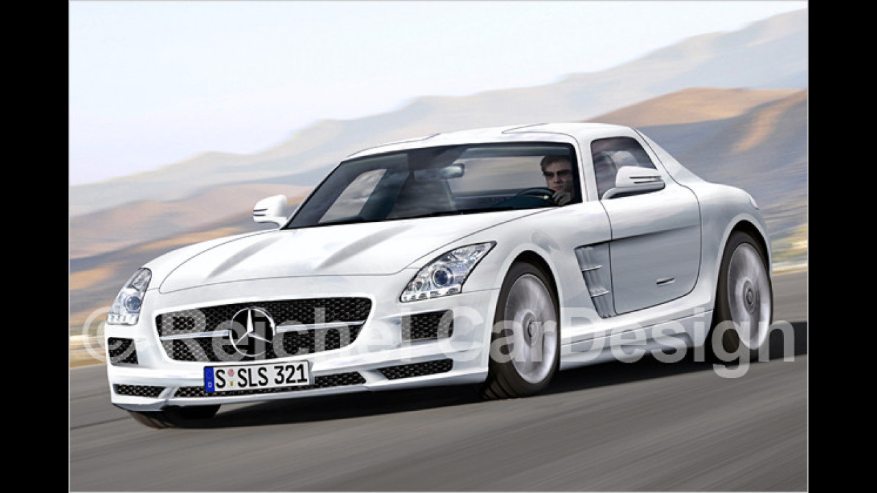 Mercedes SLS eDrive