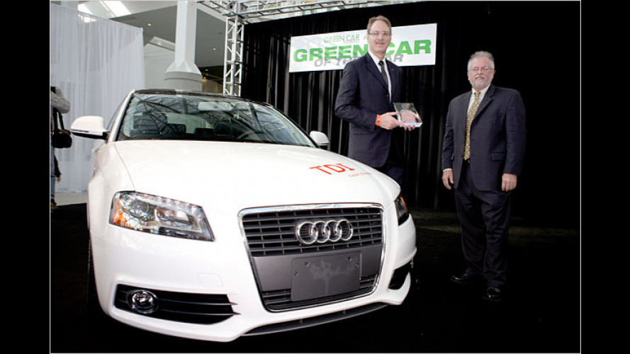 "Audi A3 TDI als ,Green Car of the Year 2010"" ausgezeichnet"