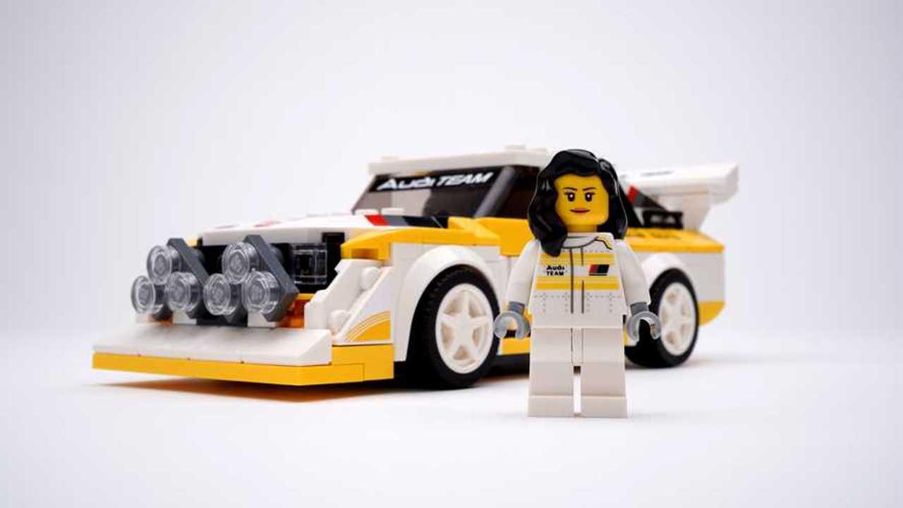 Audi quattro de LEGO