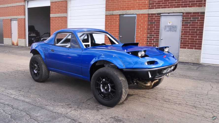 This mad Mazda MX-5 rally conversion hides an AWD Subaru soul