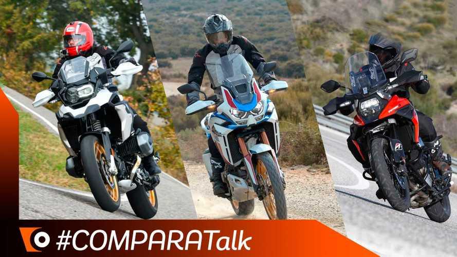 Comparativa Maxi-Enduro 2020: Africa Twin vs R1250GS vs V-Strom 1050XT