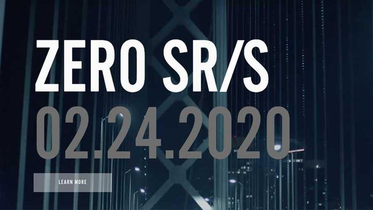 Zero SR/S Teaser 1