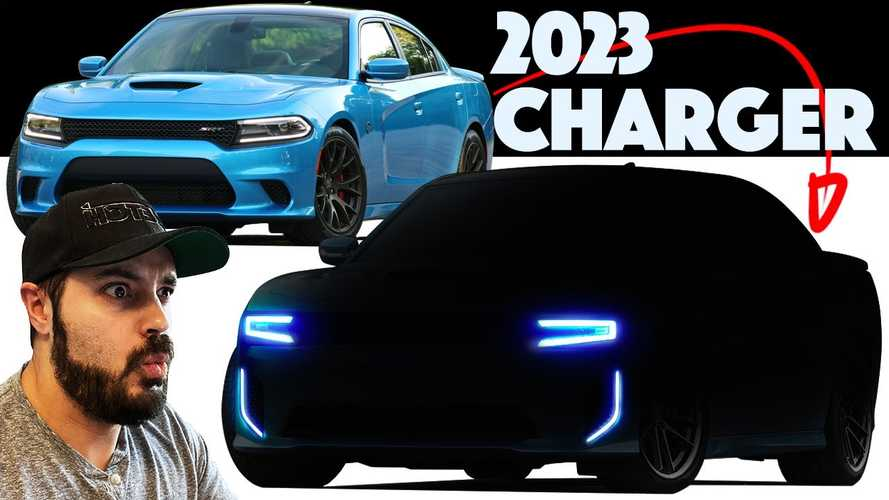 Next-Gen Dodge Charger Rendering Looks Quite Too Busy