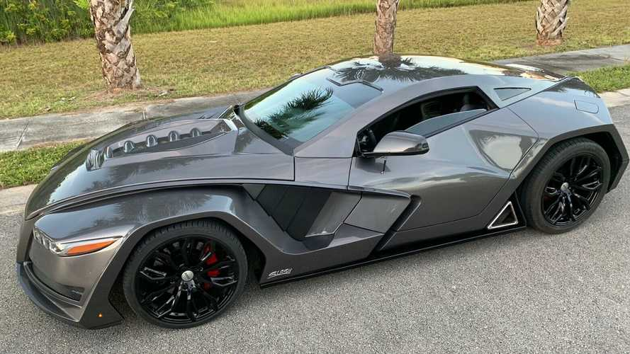 Buy This Crazy Custom C6 Chevy Corvette, Become The Next Batman
