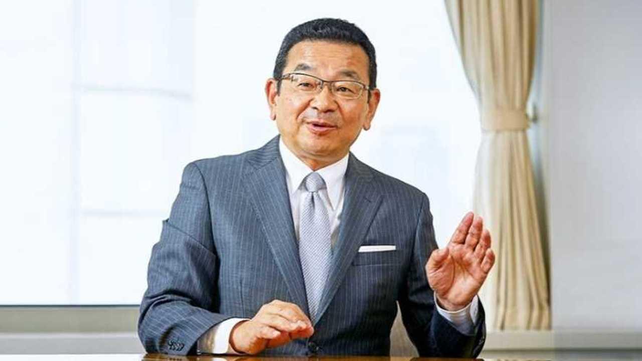 Honda Motor CEO Takahiro Hachigo
