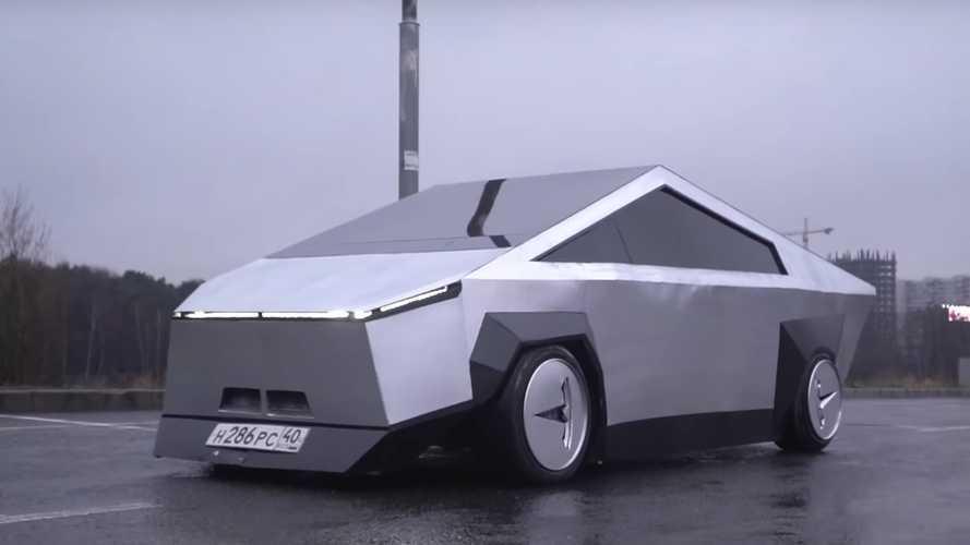 Vídeo: alucina con la creación de una réplica del Tesla Cybertruck