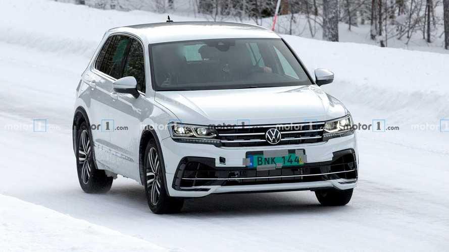 Szinte álca nélkül parádézik Skandináviában a márciusban debütáló Volkswagen Tiguan R