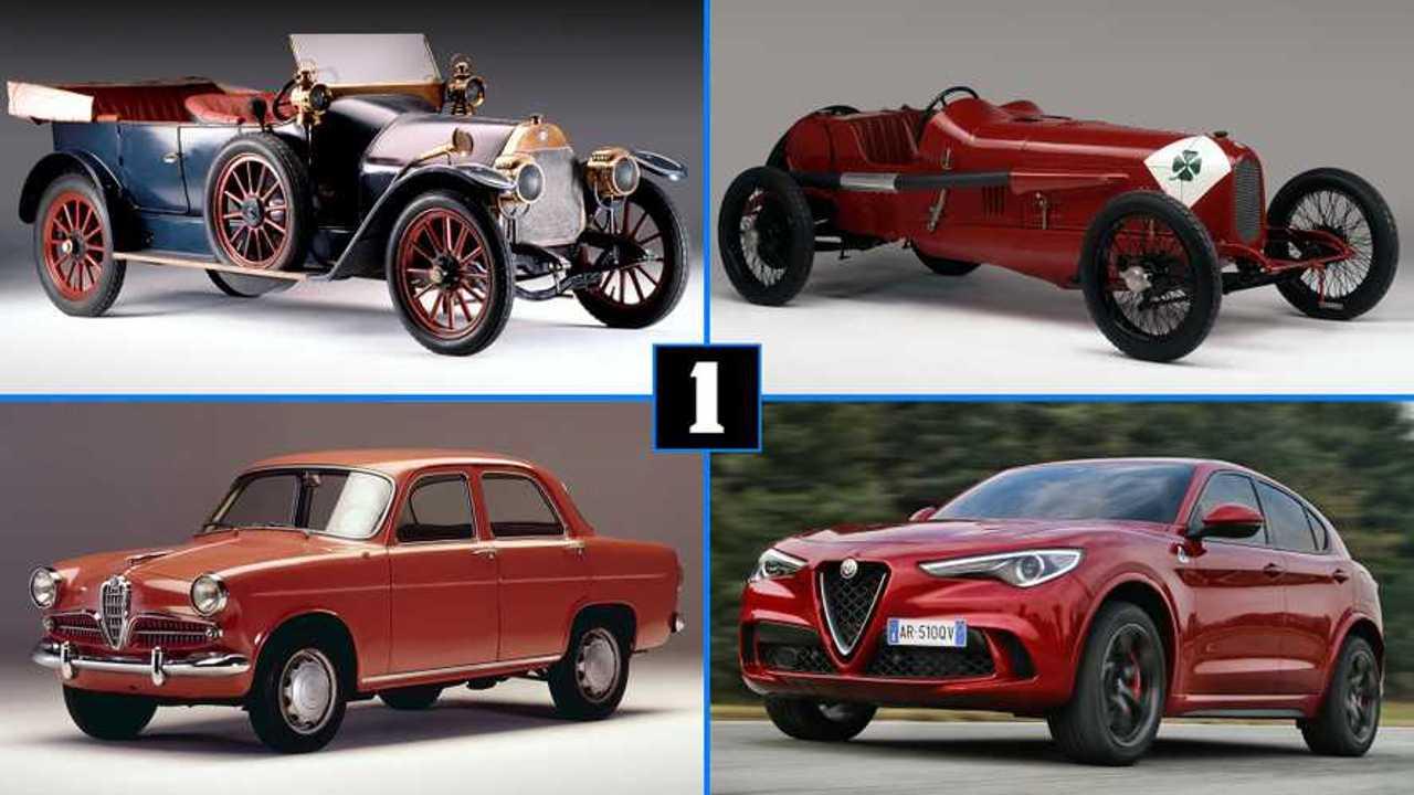 Los 10 Alfa Romeo más importantes