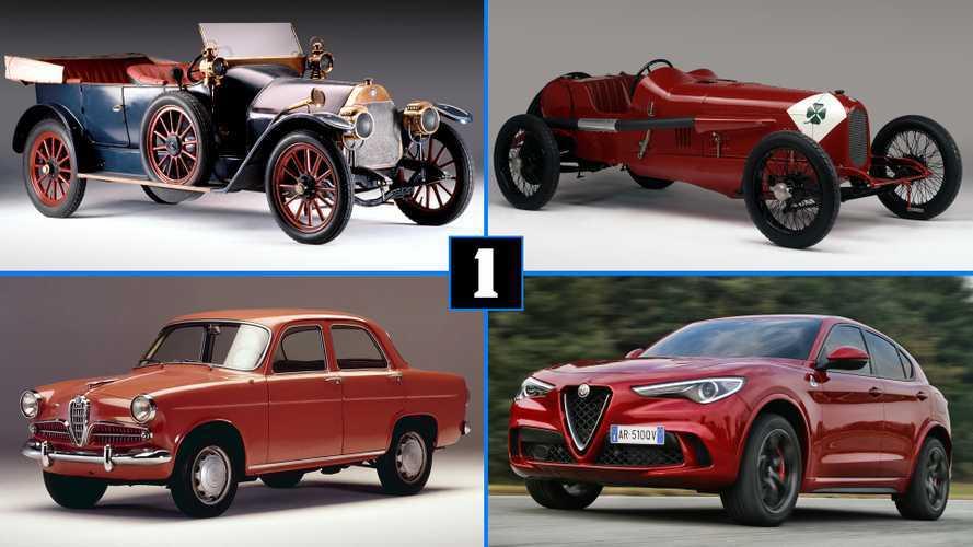 Los 10 Alfa Romeo más importantes de la historia