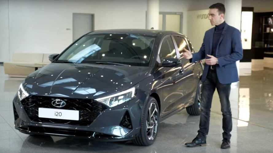 Gander At 2021 Hyundai i20's Tasty Design In This Walkaround Video