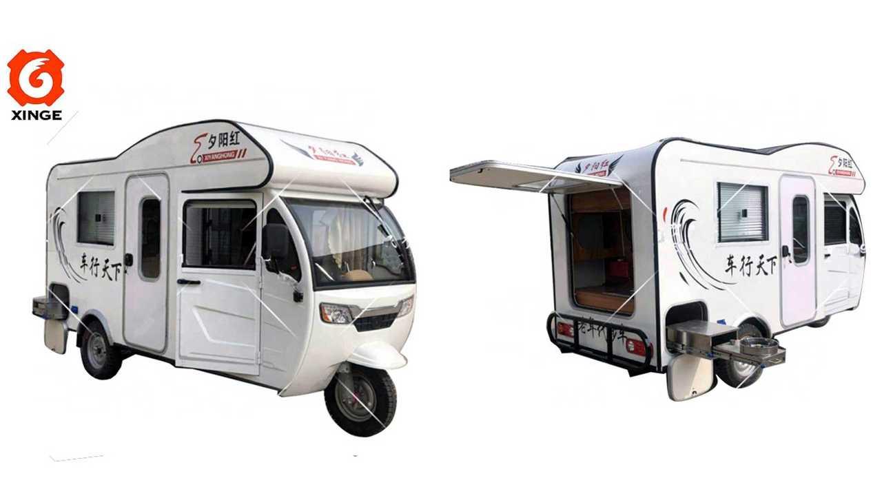 Tuk Tuk EV RV Might Be The Perfect Vehicle For A Pandemic