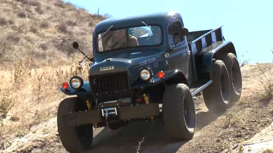 1942 Dodge Power Wagon Restomod Has 6 Wheels