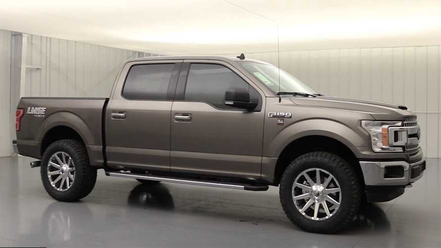 Ford Dealer Creates F-150 Off-Road Package With Suspension Lift