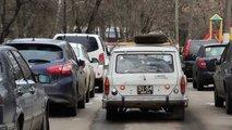 soviet black car plates