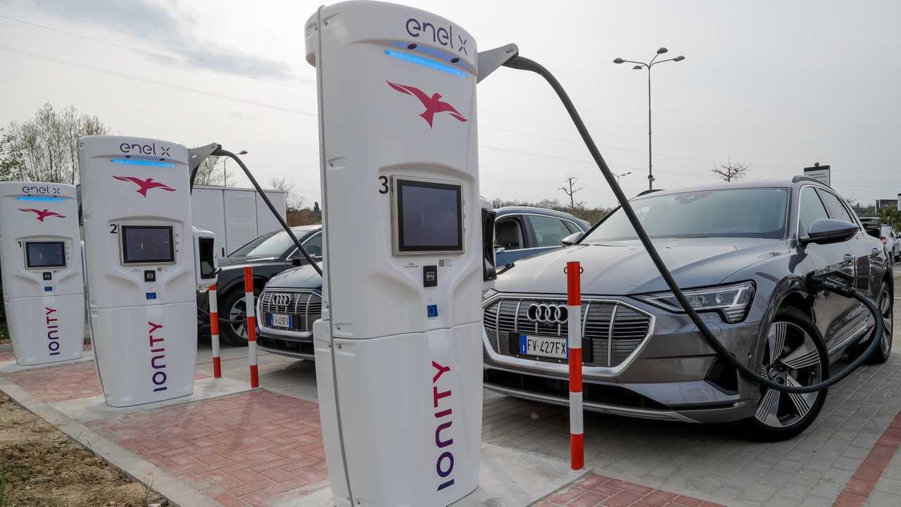 Audi e-tron Ionity
