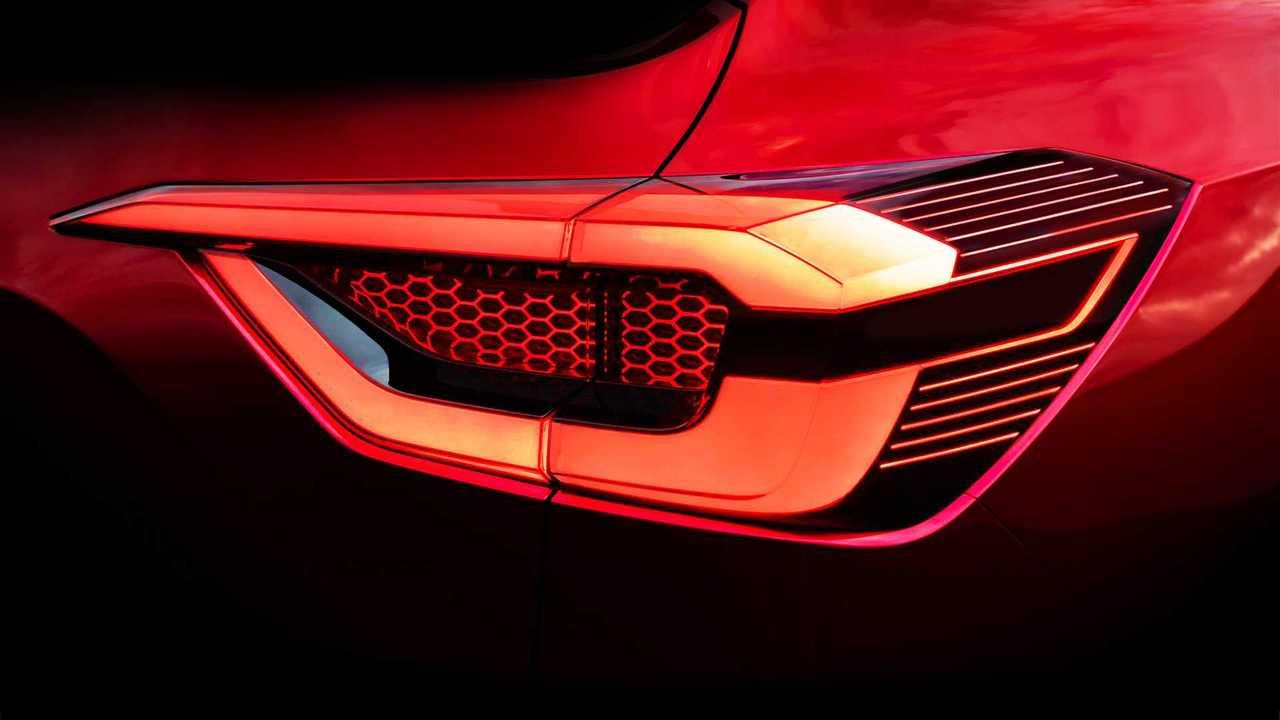 Nissan mini-Kicks - Teaser da lanterna