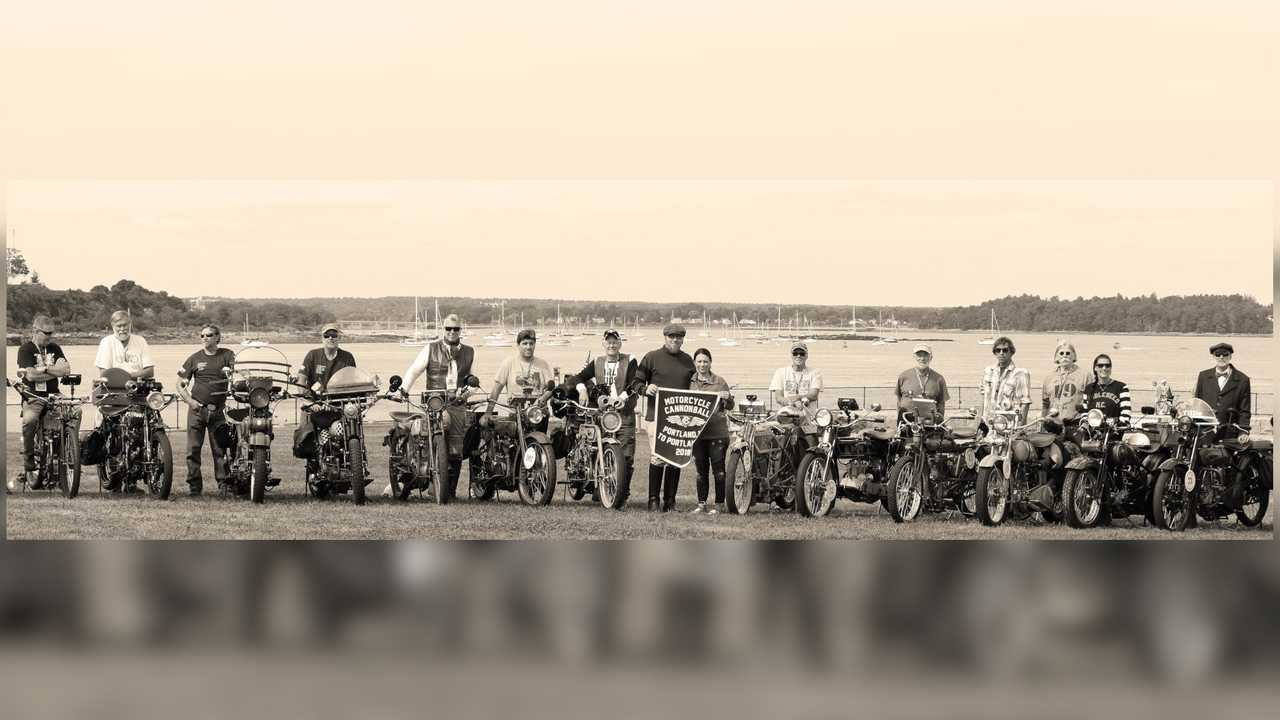 Motorcycle Cannonball 2018