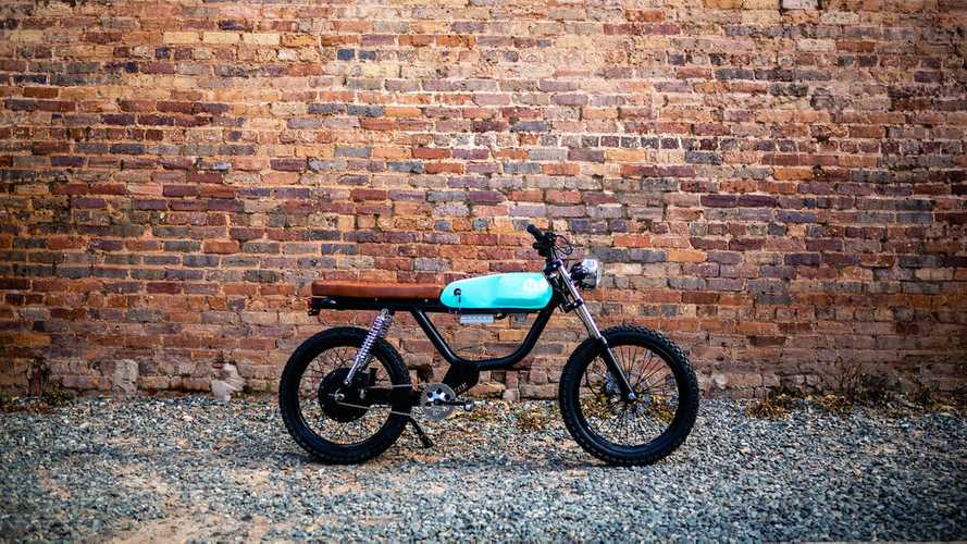 The Huck Rebel Is A Cool Electric Moped Scrambler
