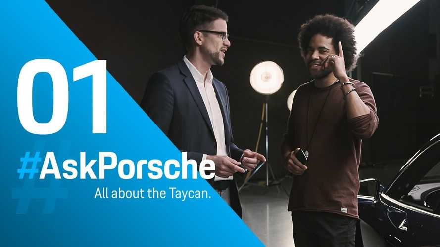 Porsche Answers Your Burning Taycan Questions