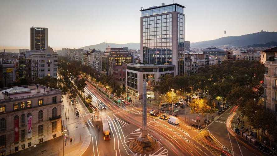 Así está cayendo el tráfico en España por el coronavirus