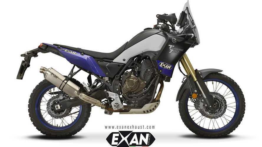 Exan, nuovi scarichi per la Yamaha Ténéré 700