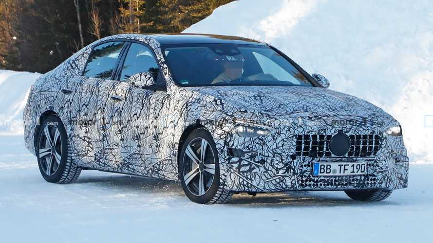 Next Mercedes-AMG C-Class Saloon caught for the first time?