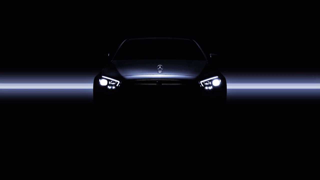 2021 Mercedes E-Class Teaser Screenshot