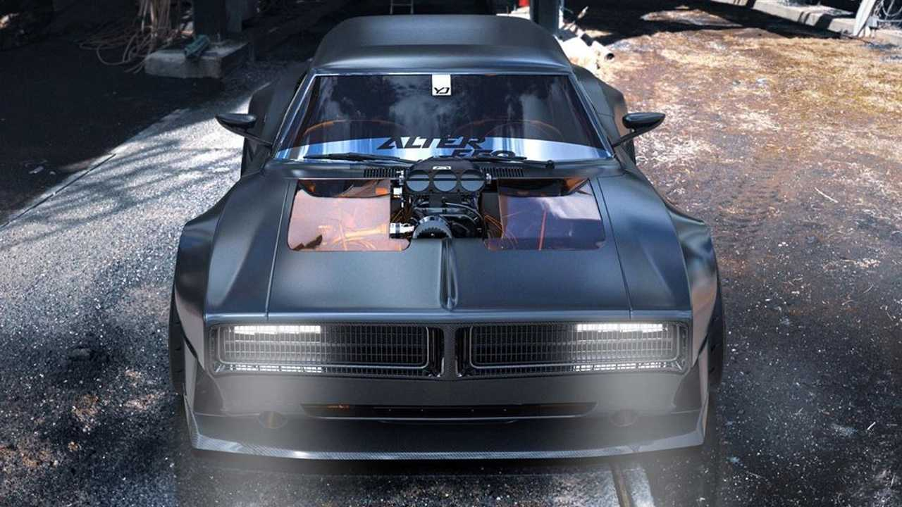 Old-School Dodge Charger \'Shooting Brake\' Concept Should Be A Thing