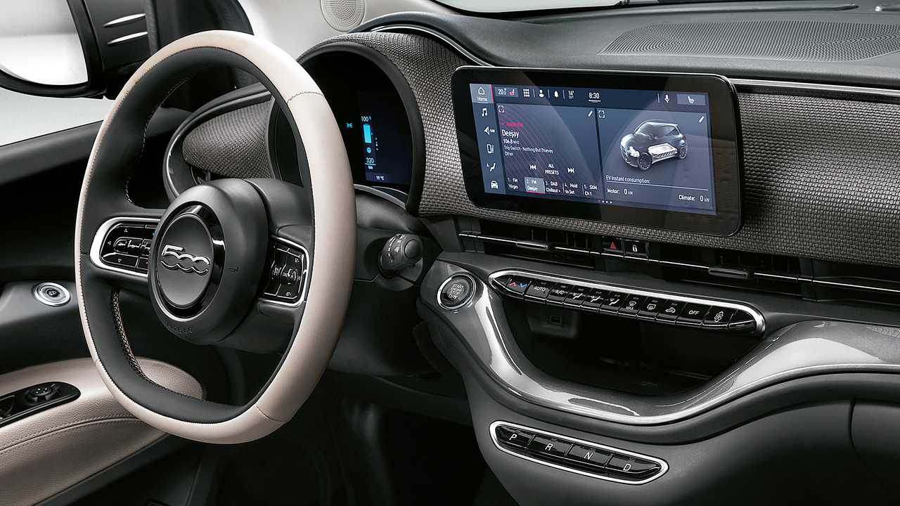 Nuova Fiat 500, quella elettrica