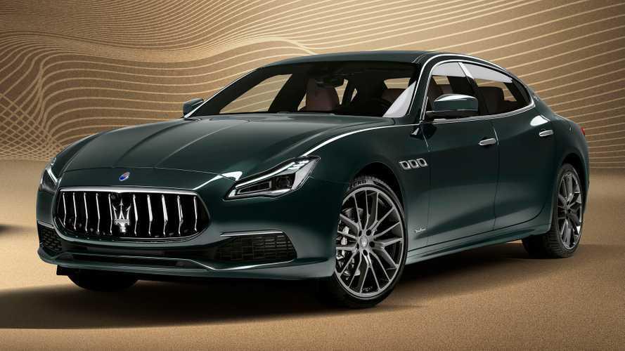 Maserati Quattroporte Royale edition announced at £103,150